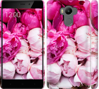 Чехол на Xiaomi Redmi 4 pro Розовые пионы