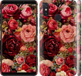 Чехол на Xiaomi Mi Max 3 Цветущие розы