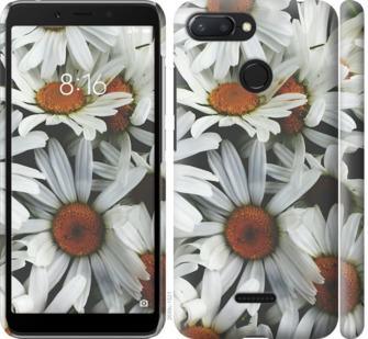 Чехол на Xiaomi Redmi 6 Ромашки v2