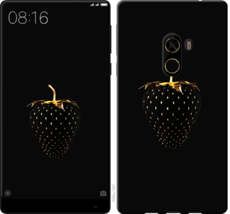 Чехол на Xiaomi Mi MiX 2 Черная клубника