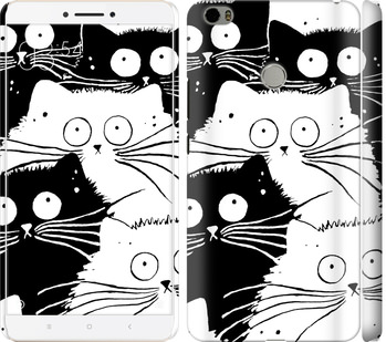 Чехол на Xiaomi Mi Max Коты v2