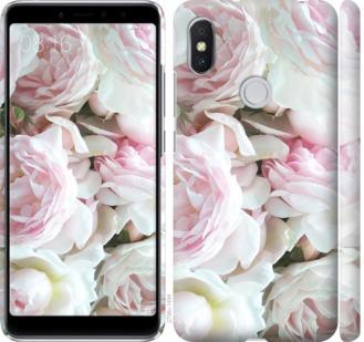 Чехол на Xiaomi Redmi S2 Пионы v2