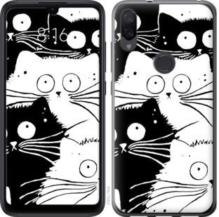 Чехол на Xiaomi Mi Play Коты v2