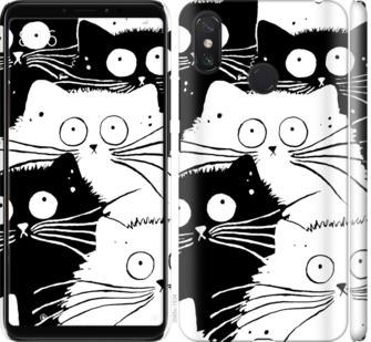 Чехол на Xiaomi Mi Max 3 Коты v2