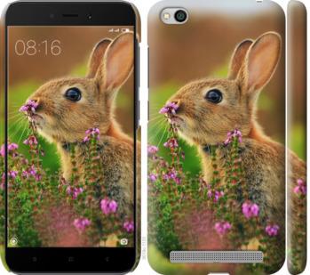 Чехол на Xiaomi Redmi 5A Кролик и цветы