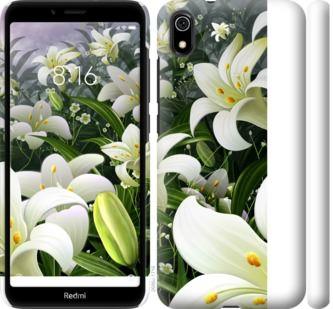 Чехол на Xiaomi Redmi 7A Белые лилии