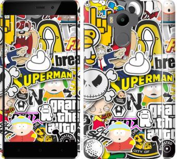 Чехол на Xiaomi Redmi 4 pro Popular logos