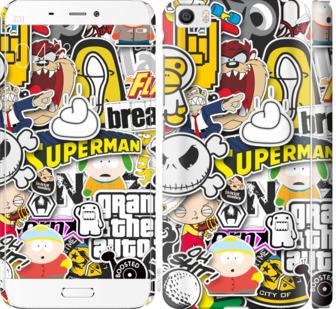 Чехол на Xiaomi Mi5 Popular logos
