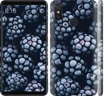 Чехол на Xiaomi Mi Max 3 Морозная ежевика