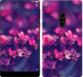 Чехол на Xiaomi Mi MiX 2 Пурпурные цветы