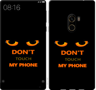 Чехол на Xiaomi Mi MiX 2 Dont touch the phone