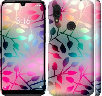 Чехол на Xiaomi Redmi 7 Листья