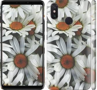 Чехол на Xiaomi Mi Max 3 Ромашки v2