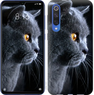 Чехол на Xiaomi Mi 9 SE Красивый кот