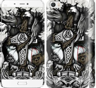 Чехол на Xiaomi Mi5 Тату Викинг