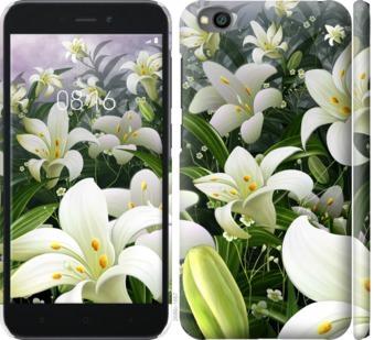 Чехол на Xiaomi Redmi Go Белые лилии