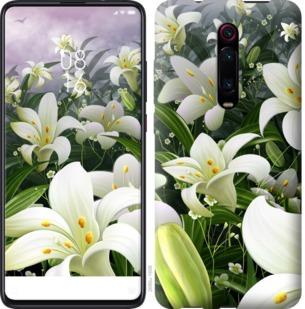 Чехол на Xiaomi Mi 9T Pro (K20 Pro) Белые лилии
