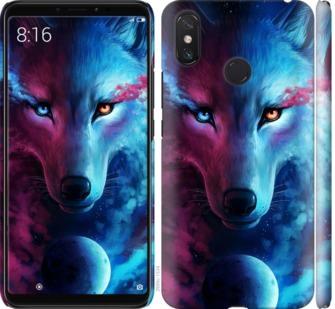 Чехол на Xiaomi Mi Max 3 Арт-волк