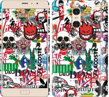 Чехол на Xiaomi Redmi Pro Many different logos