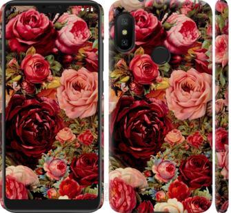 Чехол на Xiaomi Redmi 6 Pro Цветущие розы