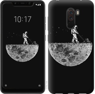 Чехол на Xiaomi Pocophone F1 Moon in dark