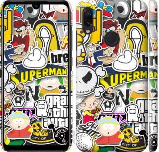 Чехол на Xiaomi Redmi Note 7 Popular logos