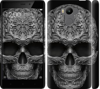 Чехол на Xiaomi Redmi 4 pro skull-ornament
