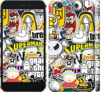 Чехол на Xiaomi Redmi Go Popular logos