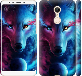 Чехол на Xiaomi Redmi 5 Арт-волк