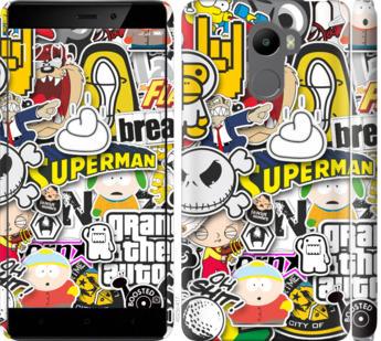 Чехол на Xiaomi Redmi 4 Popular logos