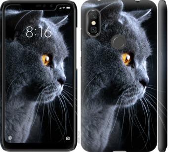 Чехол на Xiaomi Redmi Note 6 Pro Красивый кот