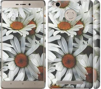 Чехол на Xiaomi Redmi 3 Pro Ромашки v2
