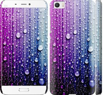 Чехол на Xiaomi Mi5 Капли воды