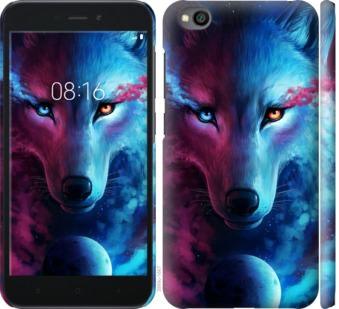 Чехол на Xiaomi Redmi Go Арт-волк