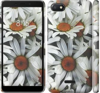 Чехол на Xiaomi Redmi 6A Ромашки v2