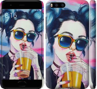 Чехол на Xiaomi Mi6 Арт-девушка в очках