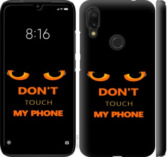 Чехол на Xiaomi Redmi 7 Dont touch the phone
