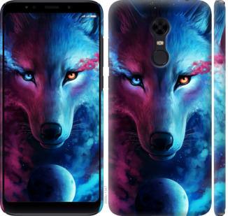Чехол на Xiaomi Redmi 5 Plus Арт-волк