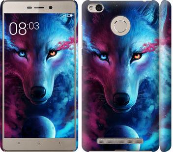 Чехол на Xiaomi Redmi 3s Арт-волк