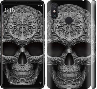 Чехол на Xiaomi Mi Max 3 skull-ornament