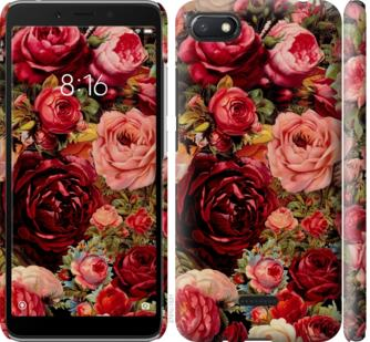 Чехол на Xiaomi Redmi 6A Цветущие розы