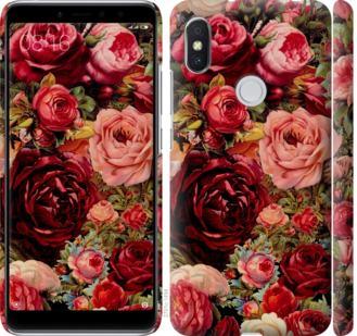 Чехол на Xiaomi Redmi S2 Цветущие розы