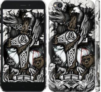 Чехол на Xiaomi Redmi Go Тату Викинг