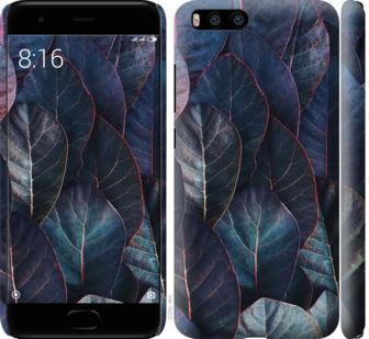 Чехол на Xiaomi Mi6 Листья v3