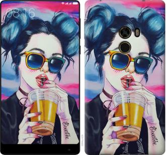 Чехол на Xiaomi Mi MiX Арт-девушка в очках