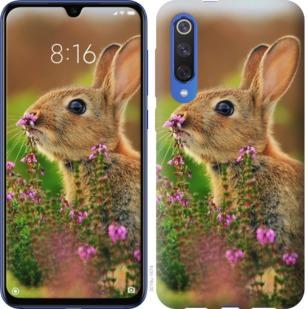 Чехол на Xiaomi Mi 9 SE Кролик и цветы