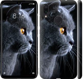 Чехол на Xiaomi Redmi Note 7 Красивый кот