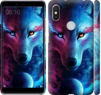 Чехол на Xiaomi Redmi S2 Арт-волк