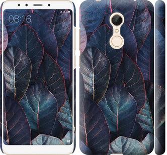 Чехол на Xiaomi Redmi 5 Листья v3