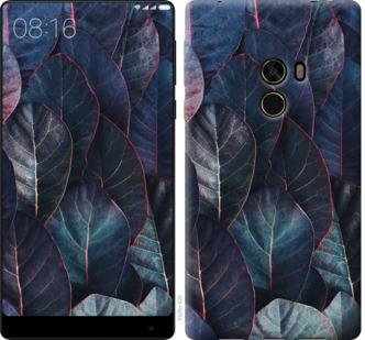 Чехол на Xiaomi Mi MiX Листья v3